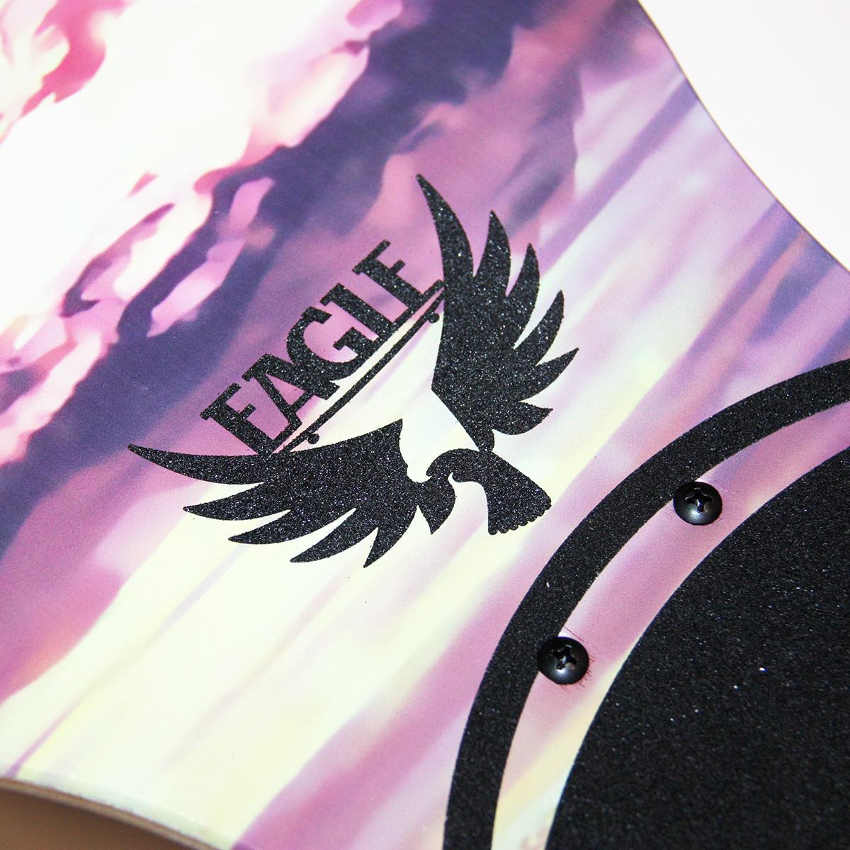 Комплект лонгборд EagleBoards Sakura 46'/117см