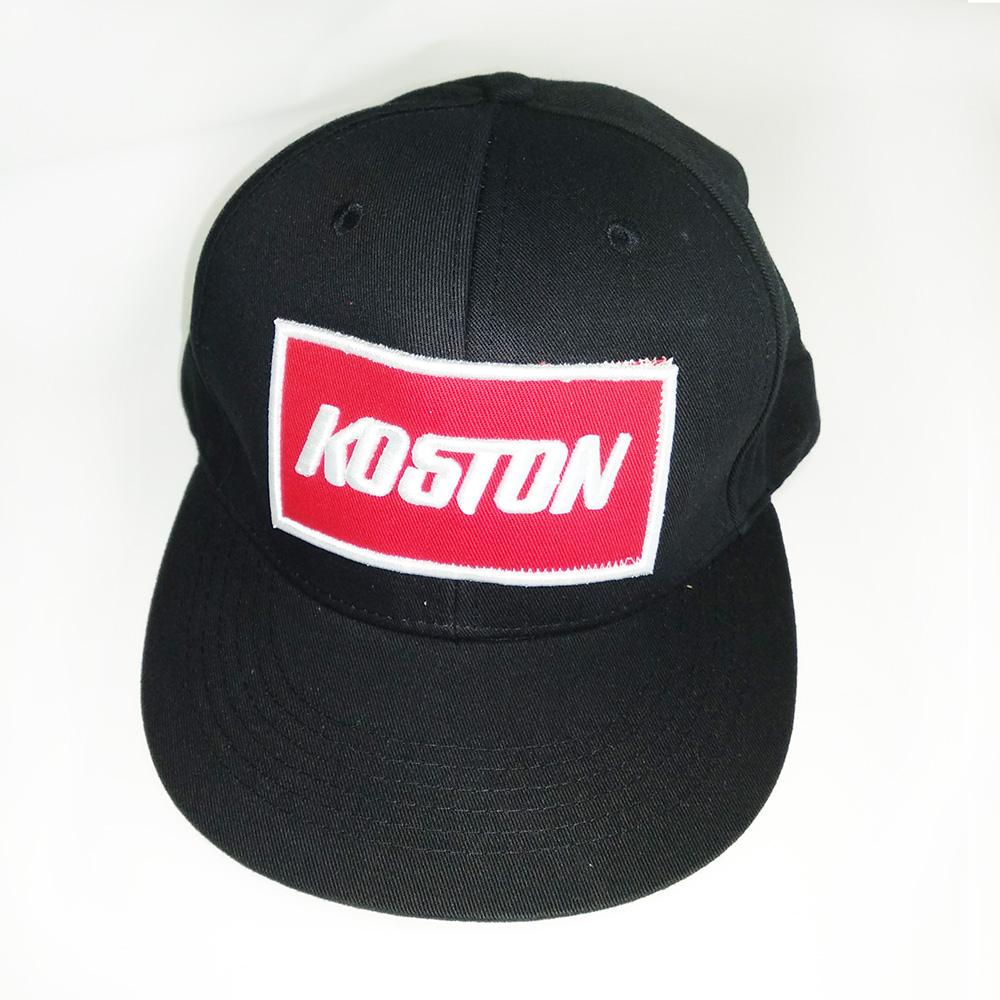 Кепка черная Koston для лонгборда