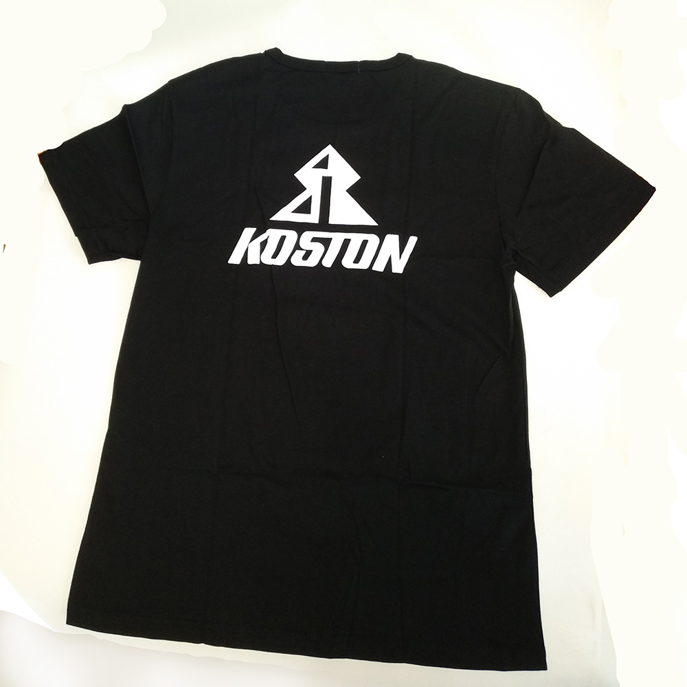 Футболка черная Koston для катания