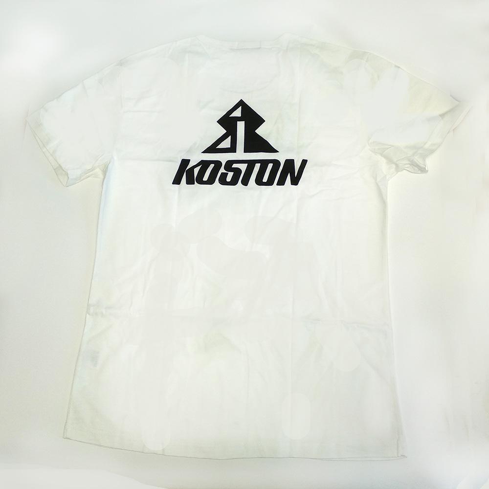 Футболка белая Koston для катания
