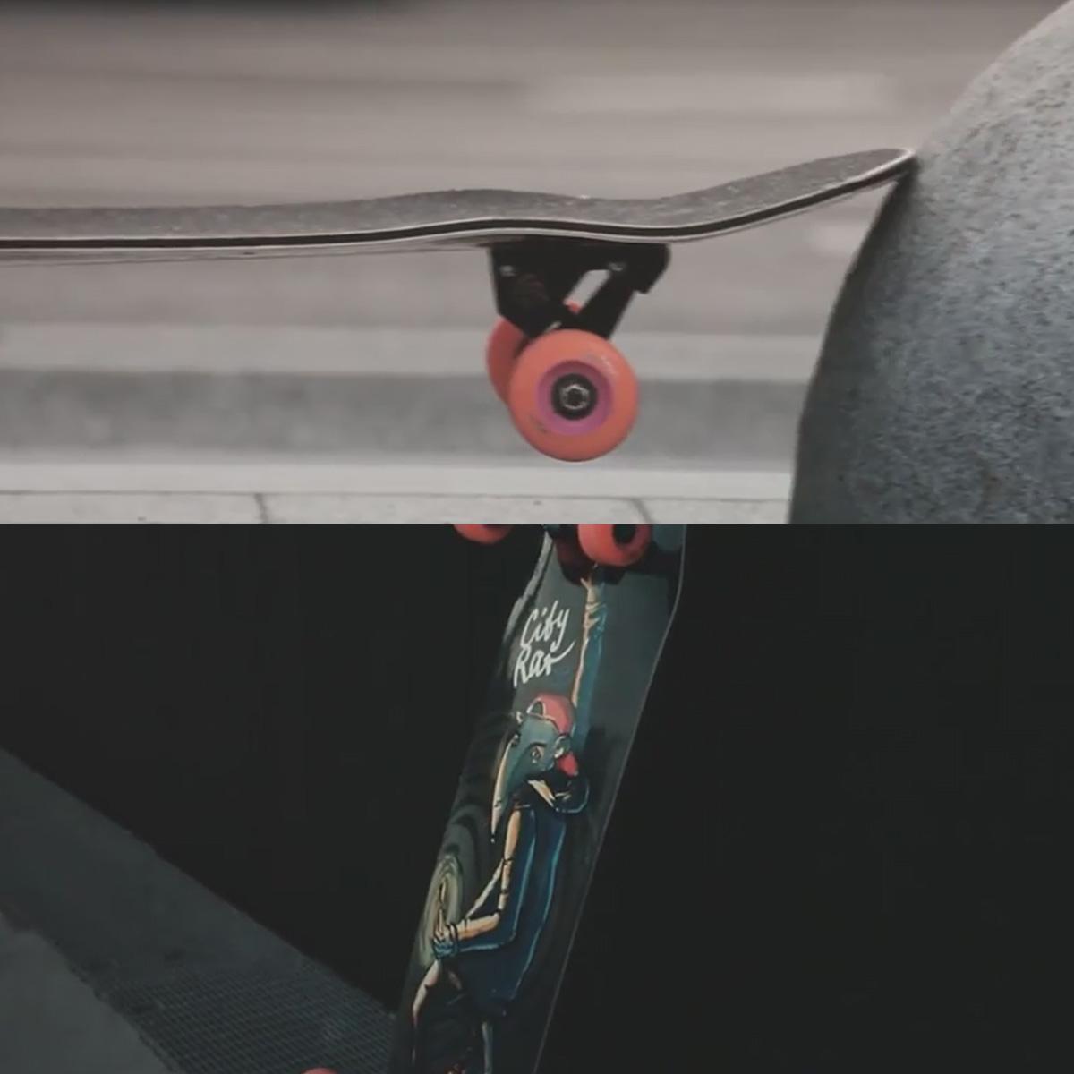 Лонгборд комплект Pepper Boards City Rat 38 /96см